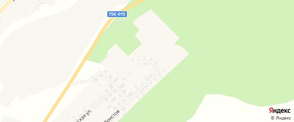 Дачная улица на карте Карабаша с номерами домов