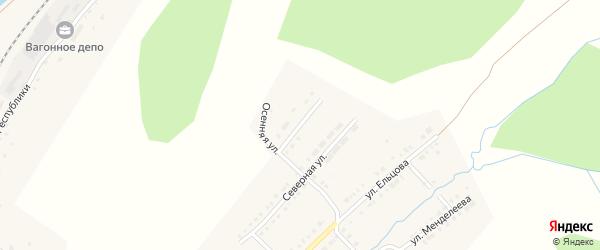 Северная 2-я улица на карте Верхнего Уфалея с номерами домов