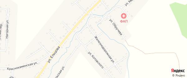 Народная улица на карте Верхнего Уфалея с номерами домов