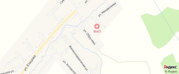 Улица Обручева на карте Верхнего Уфалея с номерами домов