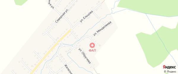 Улица Менделеева на карте Верхнего Уфалея с номерами домов