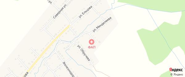 Южная улица на карте Верхнего Уфалея с номерами домов