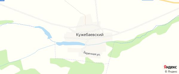 Карта Кужебаевского поселка в Челябинской области с улицами и номерами домов