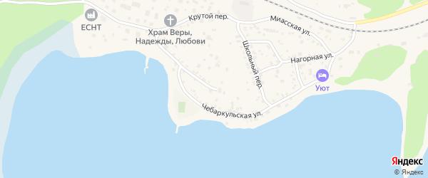 Чебаркульская улица на карте Чебаркуля с номерами домов