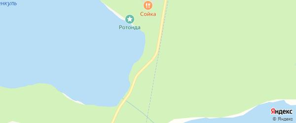 Территория Санаторий Еловое на карте Чебаркуля с номерами домов