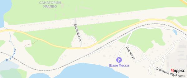Интернациональный переулок на карте Чебаркуля с номерами домов