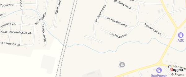 Заводская улица на карте поселка Бредов с номерами домов
