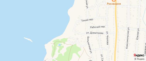 Набережная улица на карте Чебаркуля с номерами домов