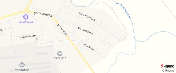 Свободы 2-я улица на карте поселка Бредов с номерами домов