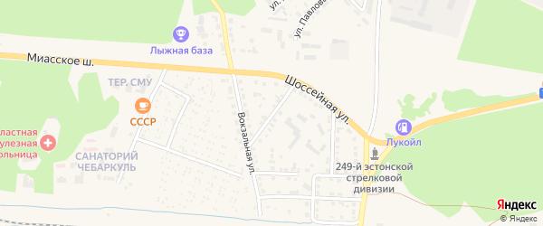 Улица Толстого на карте Чебаркуля с номерами домов
