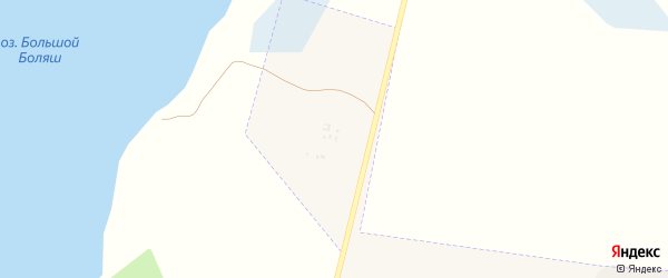 Населенный пункт п/л Искорка на карте Чебаркуля с номерами домов
