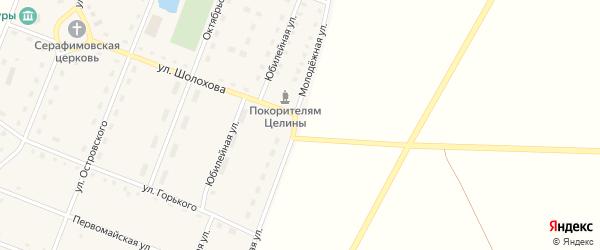 Молодежная улица на карте Светлого села с номерами домов
