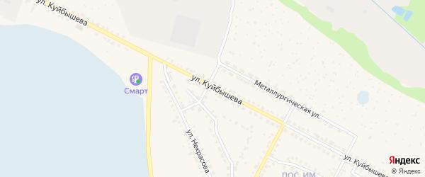 Улица Куйбышева на карте Чебаркуля с номерами домов