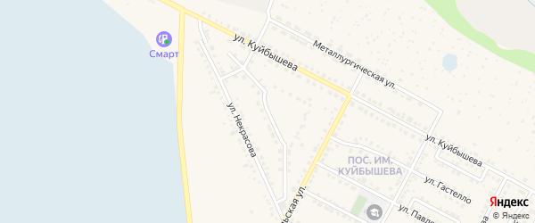 Улица Ломоносова на карте Чебаркуля с номерами домов