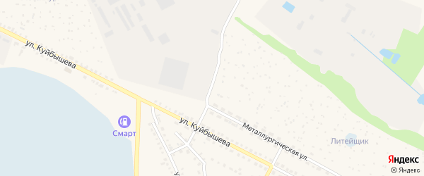 Улица Глинки на карте Чебаркуля с номерами домов