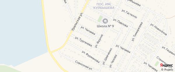 Улица Л.Чайкиной на карте Чебаркуля с номерами домов