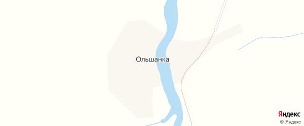 Улица Ленина на карте поселка Ольшанки с номерами домов