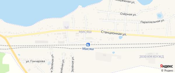 Километр 2029 на карте Чебаркуля с номерами домов