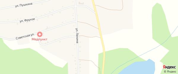 Улица Ленина на карте Северного поселка с номерами домов