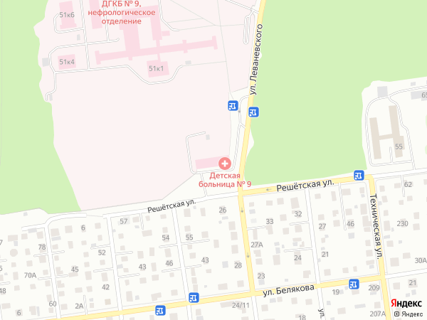 Городская клиническая больница  12 на ул Бакинская д