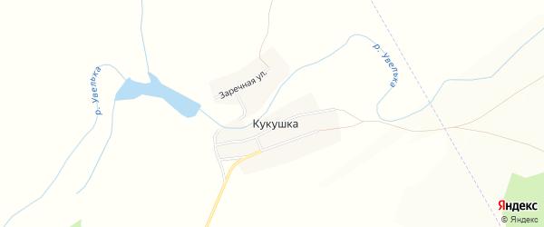 Карта села Кукушки в Челябинской области с улицами и номерами домов