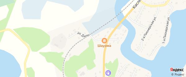 Улица Депо на карте Кыштыма с номерами домов