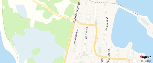 Улица Дарвина на карте Кыштыма с номерами домов