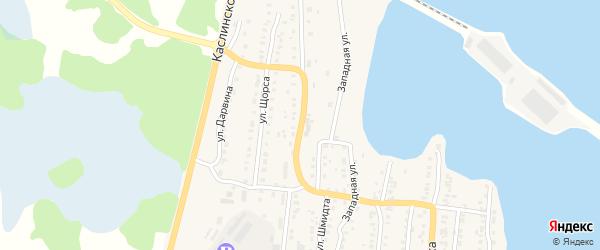 Нязепетровская улица на карте Кыштыма с номерами домов