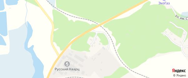 Улица Нефтебаза на карте Кыштыма с номерами домов
