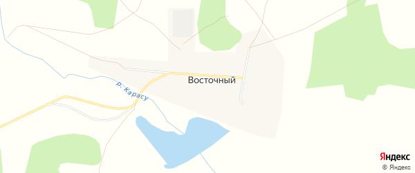 Карта Восточного поселка в Челябинской области с улицами и номерами домов