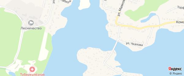 СНТ Энергетик городской на карте Кыштыма с номерами домов