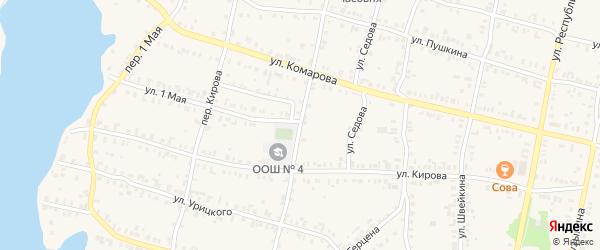 Маукская улица на карте Кыштыма с номерами домов