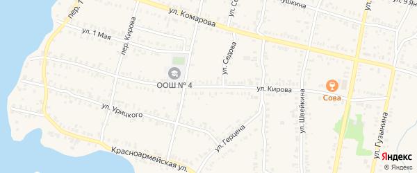 Улица Кирова на карте Кыштыма с номерами домов