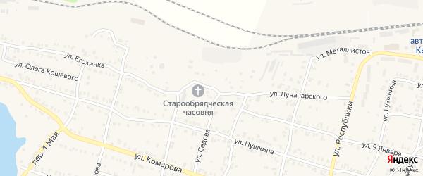 Улица Перевалочная База на карте Кыштыма с номерами домов