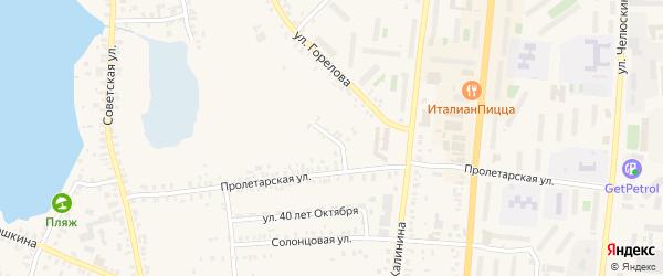 Улица 8 Марта на карте Кыштыма с номерами домов
