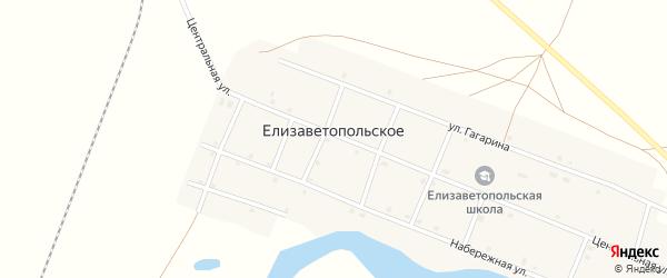 Улица Гагарина на карте Елизаветопольского села с номерами домов