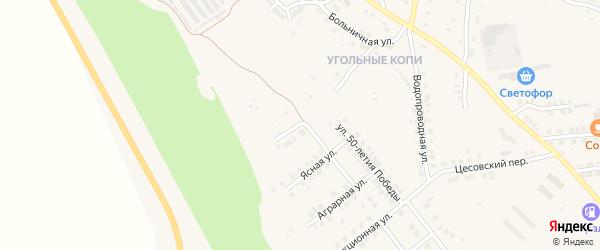 Дорожная улица на карте Карталы с номерами домов