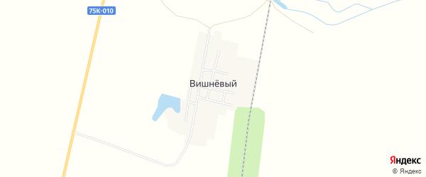 Карта Вишневого поселка в Челябинской области с улицами и номерами домов
