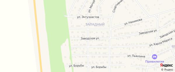Улица Мичурина на карте Карталы с номерами домов