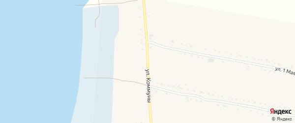 Улица Коммуны на карте Кузнецкого села с номерами домов