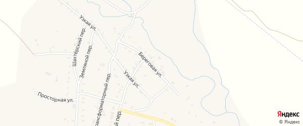 Береговая улица на карте Карталы с номерами домов