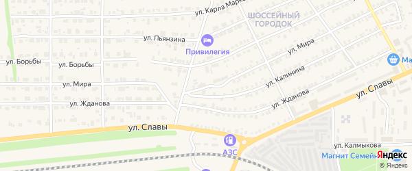 Улица Мира на карте Карталы с номерами домов