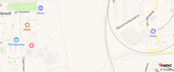 Сад Локомотив на карте Карталы с номерами домов
