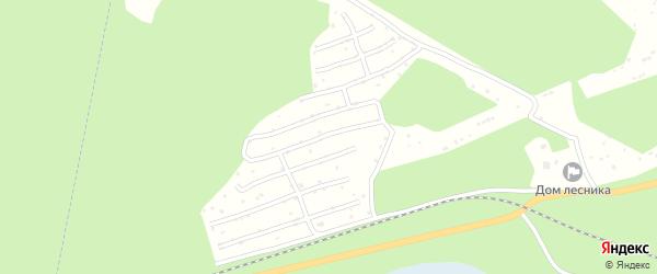 Южное СНТ на карте Озерска с номерами домов