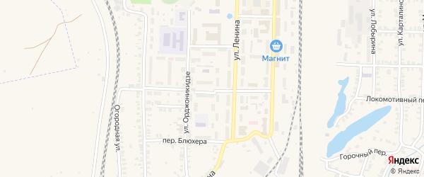 Зои Космодемьянской переулок на карте Карталы с номерами домов