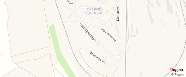 Западная улица на карте Карталы с номерами домов