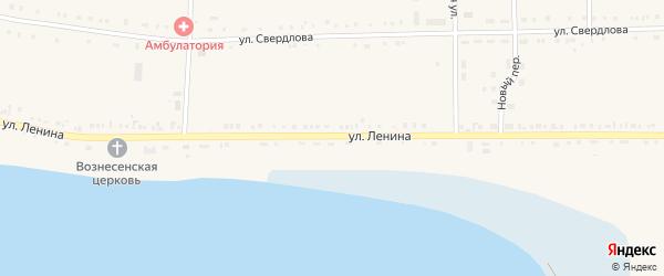 Улица Ленина на карте Кузнецкого села с номерами домов
