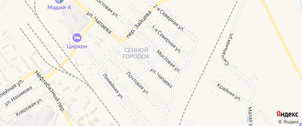 1-я Северная улица на карте Карталы с номерами домов
