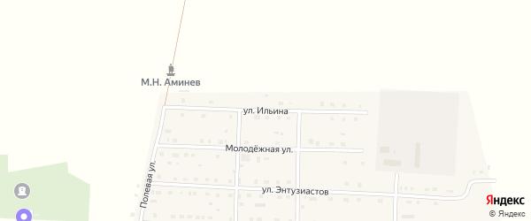 Улица Ильина на карте села Чесмы с номерами домов