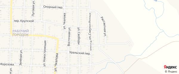 Улица Степана Разина на карте Карталы с номерами домов